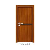 韩式拼接强化门 -YH-7010(金檀)
