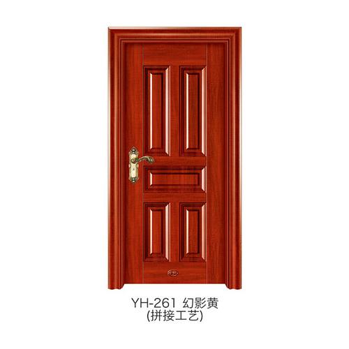 仿拼接木门-YH-261(幻影黄)
