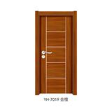 韩式拼接强化门 -YH-7019(金檀)