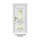 白橡鑲玉門 -YH-809(法國白橡)