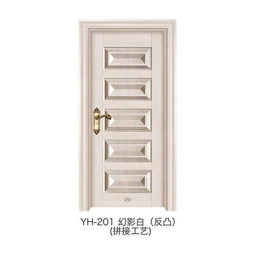 3D仿拼接反凸门-YH-201(幻影白)