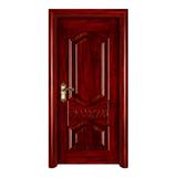室內套裝門 -YH905巴西紅柳 反凸