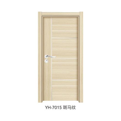 韩式拼接强化门-YH-7015(斑马纹)