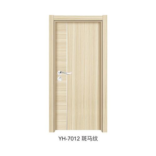 韩式拼接强化门-YH-7012(斑马纹)