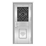 不锈钢门 -YH8108四类花