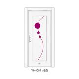 鋼木室內門 -YH-097(純白)