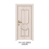 深拉伸仿实木门 -YH-143(幻影白)