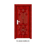 強化生態門 -YH-8020(經典紅木)