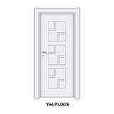 实木复合门 -YH-PL008