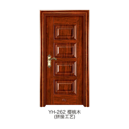 仿拼接木门-YH-262(樱桃木)