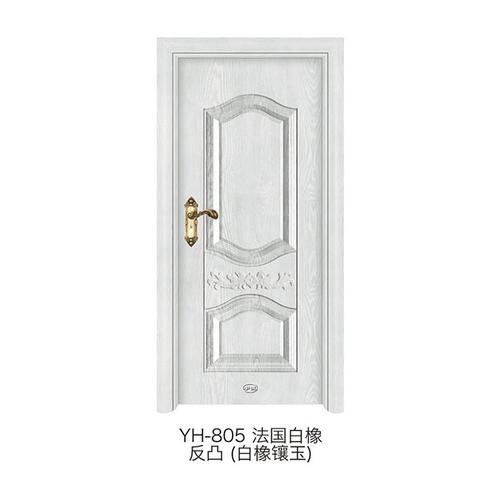 白橡镶玉门-YH805)(法国白橡)(反凸)