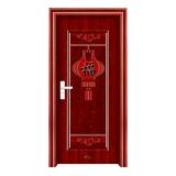 钢木室内门 -YH-063红拼木