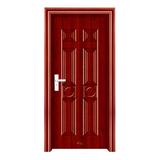 钢木室内门 -YH-027红拼木
