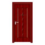 生態木門 -YH-8029紅拼木
