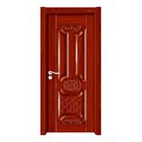 深拉伸聚脂木门 -YH-6602红檀