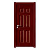 深拉伸聚脂木门 -YH-6816红木