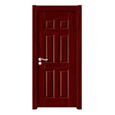 深拉伸聚脂木门-YH-6816红木
