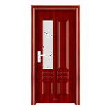钢木室内门 -YH-065红拼木