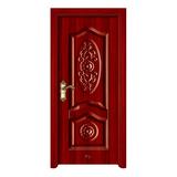 钢木室内门 -YH-122红拼木