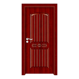 生態木門 -YH-8028紅拼木