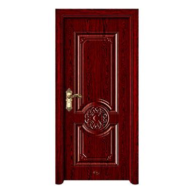 钢木室内门-YH-121印度紫檀