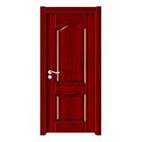 深拉伸聚脂木門 -YH-6811紅拼木