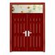 鋼木室內門-YH-126紅拼木
