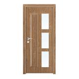 工艺木门玻璃门 -YZ-851(橡木1号)