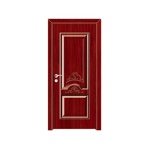 工艺木门模压门-YZ-801(红木)