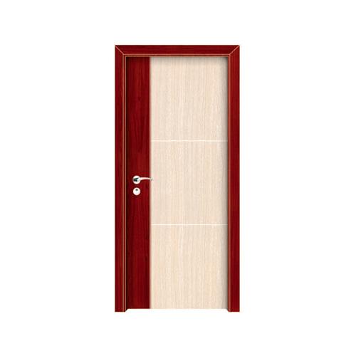 工艺木门拼接门-YZ-607(红木白橡)