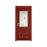 工艺木门玻璃门 -YZ-836(红樱桃)