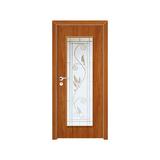 工艺木门玻璃门 -YZ-850(桃木)