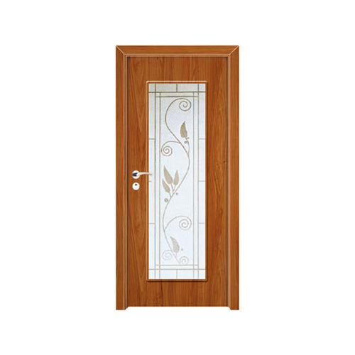 工艺木门玻璃门-YZ-850(桃木)