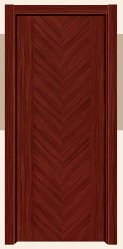 工艺木门拼接系列-YZ-625 皇家红柚