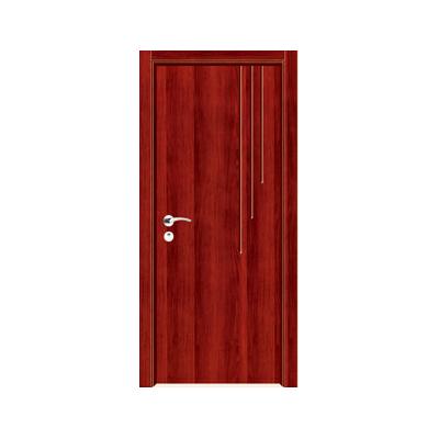 工艺木门雕刻门-Y-926(红拼木)