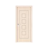 工艺木门雕刻门 -Y-910(白橡)