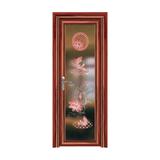 卫浴门 -YZ-905(红檀木)