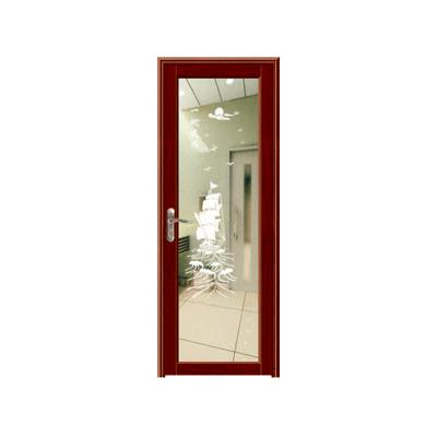 卫浴门-YZ-210(红胡桃)
