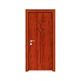 工艺木门雕刻门 -Y-906(红檀)