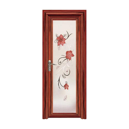 卫浴门-YZ-906(红檀木)