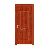 工艺木门模压门 -Y-801(红檀)