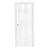 工艺木门雕刻门 -浮雕纯白