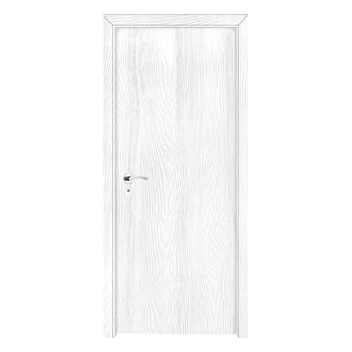 工艺木门雕刻门-浮雕纯白
