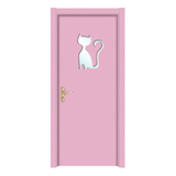 插玻卡通时尚门 -Y-3020粉红