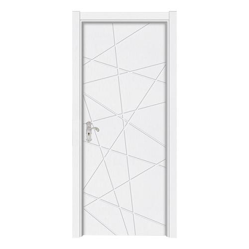 暖白布纹门-Y-168暖白布纹