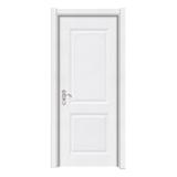 暖白浮雕门 -Y-145暖白拉丝