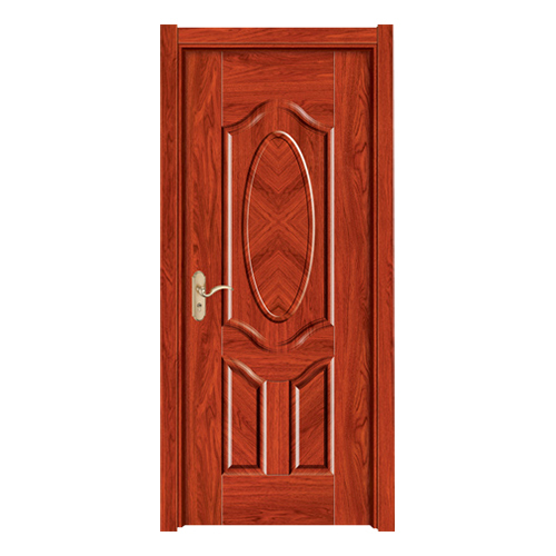 暖白浮雕门-Y-178红檀