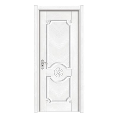 暖白浮雕门-Y-140暖白