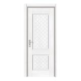 暖白浮雕门 -Y-148暖白