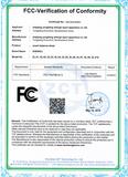 EC-Certification of Conformity